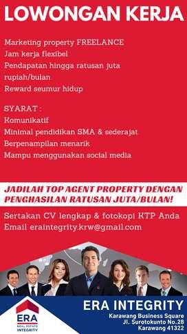Jadilah Top Agen Properti dengan Penghasilan 100JT/bulan!