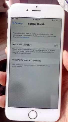 Iphone 6s 16gb internal 88% battery health