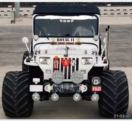 All type jeeps modified