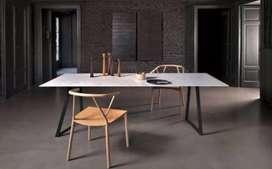 Meja meeting meja rapat meja kerja meja kantor meja pertemuan laptop