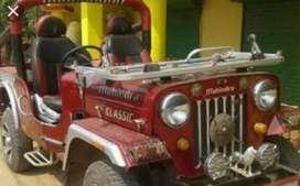 Mahindera classic modified jeep