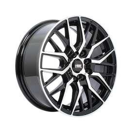 Jual velg murah Cibubur HSR R15 untuk Mobil Brio, altis, Sirion