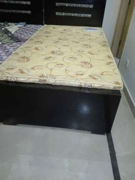 Complete New 10/10 Single Bed with mattress Best Condition