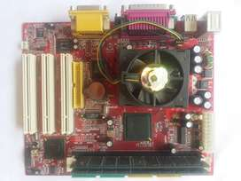 Intel Mother board C44108, with CPU P-III and RAM 256 *2= 500 MB