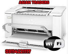 wireless HP LaserJet printing HP M102W And also Photocopier available