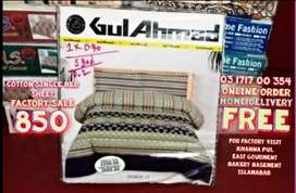 Bed Sheets Cotton Gultex Pillows Cover Quilat