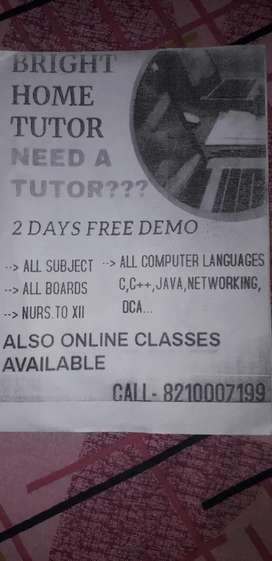 Home tution service for any board including cbse icse.