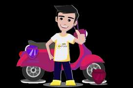 Immediate ECOM Delivery Boys Required- Rapidoo Bike Taxi