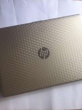 Jual laptop HP notebook 14-bs129tx - GOLD