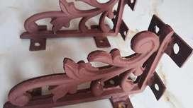 Heavy Iron brackets for shelves