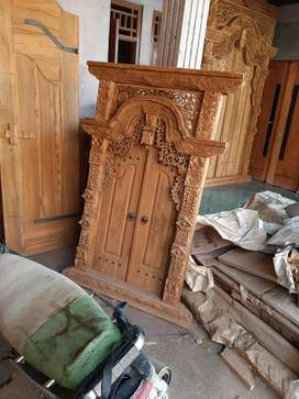 Bazar kusen pintu murah free ongkir tanpa dp gebyok gapuro jendela uki