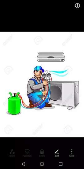AC REPAIRING AND SERVICING