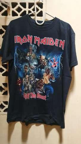 Shirt Iron Maiden made In Thailand
