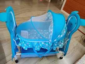 Baby Cradle Blue