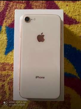 Iphone 8 64 gb box and orginal charger availble.exchnge also availble