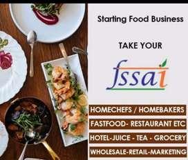 Fssai food license and online attachment swiggy zomato