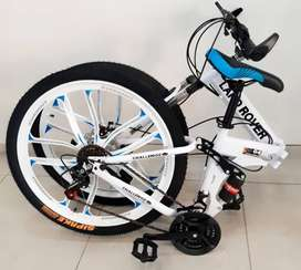 LAND-ROVER Foldable Cycle 21 Gears ,Free Bottle Holder & Fenders