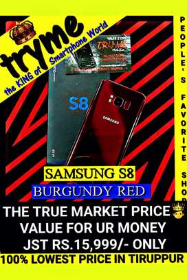 TRYME 64Gb SAMSUNG S8 Red Edition Fresh Conditions