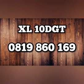Nomor cantik esklusif XL 10dgt spesial hoki 169
