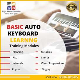Musical Keyboard Learning Course By Ilyas Ahmed Sikander