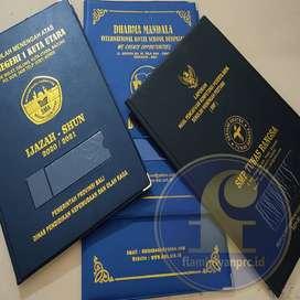 Sampul Cover Map Raport, Ijazah, Sertifikat, Agenda