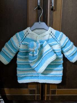 Cardigan (wool for baby)
