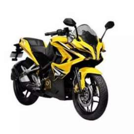 Pulsar rs 200 ABS yellow