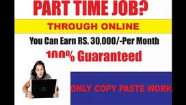 Monthly earn -30,000