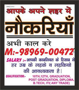 YAMUNANAGAR JOB