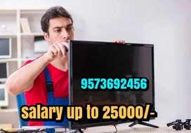 Wanted Ledtv technician At Tirupur