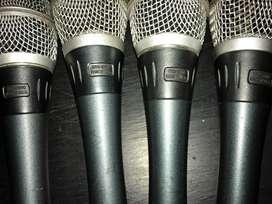 4 BUAH MICROPHONE SHURE BETA 87A [ORIGINAL MADE IN USA] - BEKAS