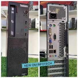 i3 LENOVO/500GB HDD/4GB RAM/THINKCENTRE MODEL/1 YEAR WARRANTY