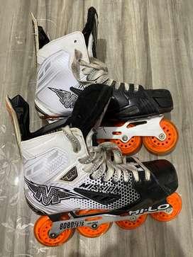 Mission Fz-3 Inline Skates shoe Size- 10.5