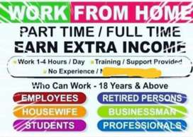 Part time for Housewife's, Retired & Bankers