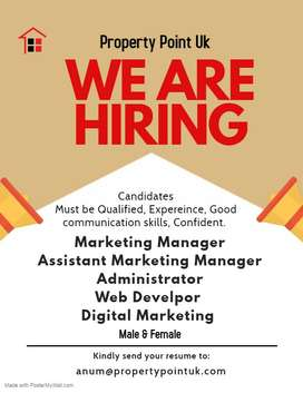 Looking for Marketing Administrator