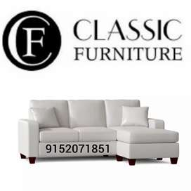 New classic 3 seater sofa white colour factory price#181