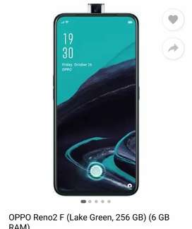 Oppo Reno 2f 6 GB 256 GB for sale 5 days old...