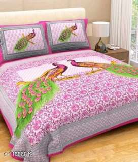 Riya Best Cotton Double Bedsheet