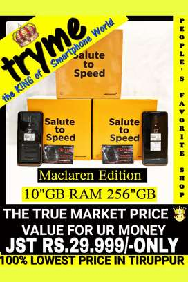 TRYME 10Gb Ram/256Gb MACLAREN EDITION Full Kit Box