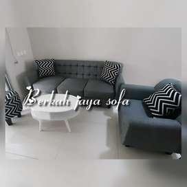 sofa retro black