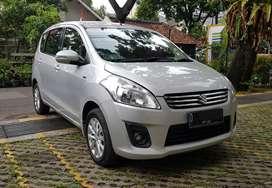 Suzuki Ertiga GL AT (Matik) 2013 SILVER Mobil Siap Pakai TDP 20 JT