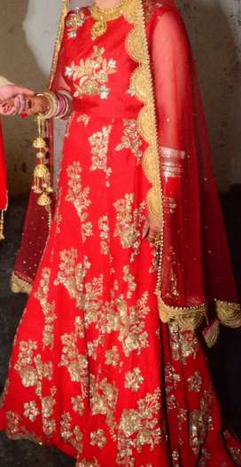 Bridal Red Lehnga