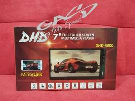 DHD-4300 MP5 - TV Mobil Head Unit Universal + Mirror Link Full Glass