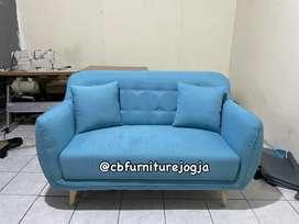 Ready sofa model baru, ada bantal peluk