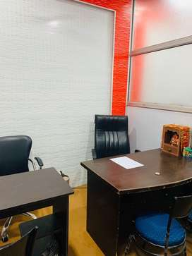 Furnished office cabin available