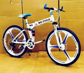 NEW FOLDING CYCLES AVAILABLE WITH 21 GEARS