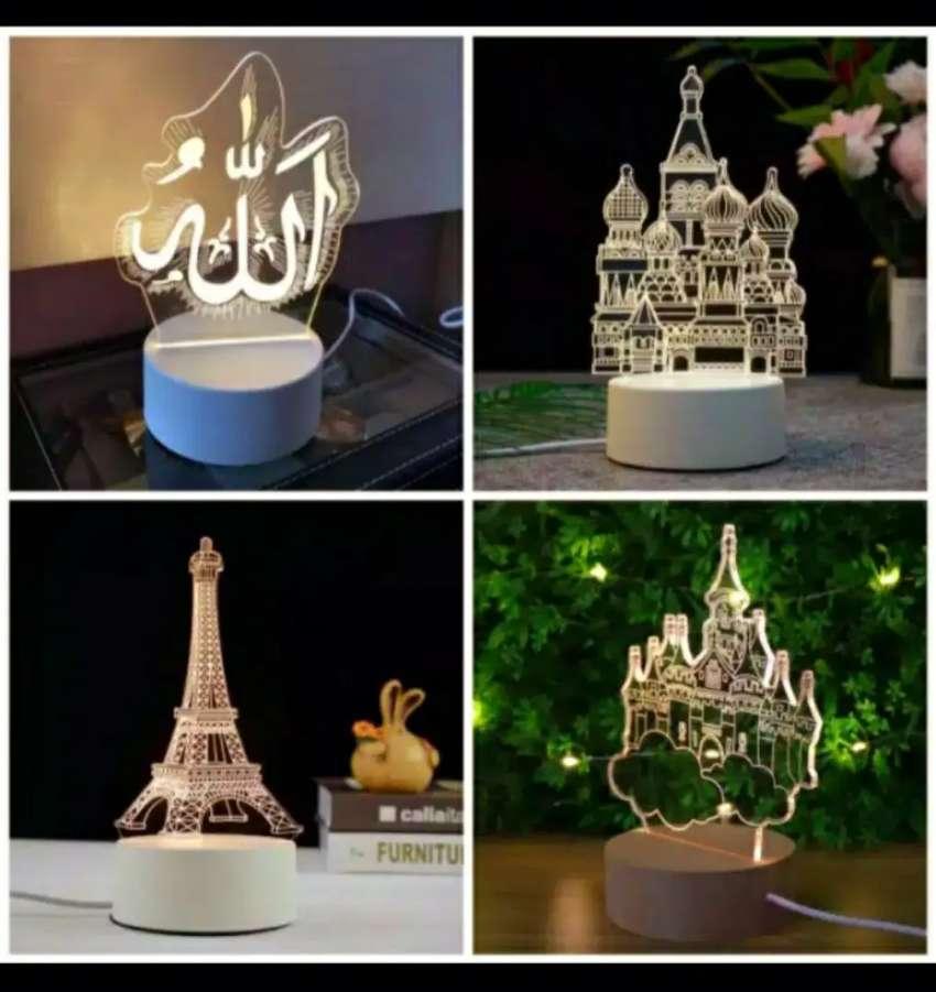 Lampu hias / lampu tidur 3D