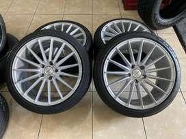 Vossen R18 (Belang 8-9) Ban 225/40 Civic,Stream,Accord,Mercy dll