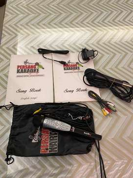 Persang Aspire Karaoke with extra microphone