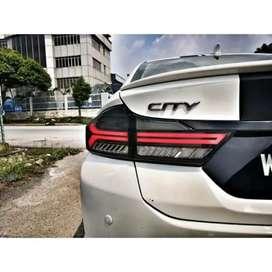 Honda city tail light matrix indicators taillight taillamp tail lamp